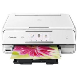 МФУ Canon PIXMA TS8040 цветное A4 15/10ppm 1200x2400 Wi-Fi USB белый 1369C027