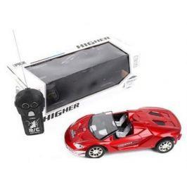 Машинка на радиоуправлении Shantou Gepai 637148 пластик, металл от 3 лет красный