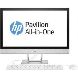 "Моноблок 23.8"" HP Pavilion 24-r002ur 1920 x 1080 Intel Core i3-7100T 4Gb 1 Tb 16 Gb Intel HD Graphics 630 64 Мб Windows 10 Home белый 2MJ39EA"