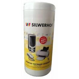 Чистящая салфетка Silwerhof Plastic Clean 10 шт 671201