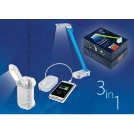 Настольная лампа (UL-00000795) Uniel TLD-530 Blue-White/LED/200Lm/6400K/PB
