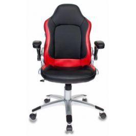 Кресло компьютерное игровое Бюрократ VIKING-1/BL+RED черный/красный