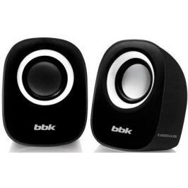 Колонки BBK CA-303S 2x1.5 Вт черный/белый