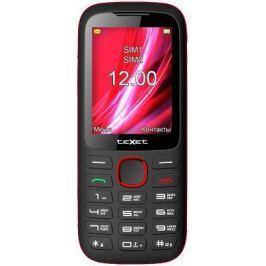 Мобильный телефон Texet TM-D228 черный красный