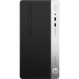 Системный блок HP ProDesk 400 G4 i3-6100 3.7GHz 4Gb 1Tb HD630 DVD-RW Win10 клавиатура мышь черный 2ZE67ES