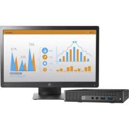 "Компьютер 23"" HP 260 G2.5 DM 1920 x 1080 Intel Core i3-6100U 4Gb SSD 256 Intel HD Graphics 520 Windows 10 Professional черный 2TP87ES"