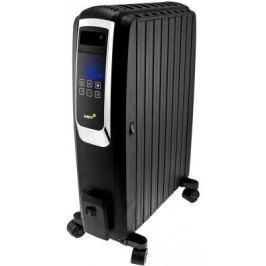 Масляный радиатор Unit UOR-993 2000 Вт дисплей таймер пульт ДУ чёрный