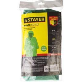 Плащ-дождевик Stayer Master полиэтилен универсальный размер зеленый 11610