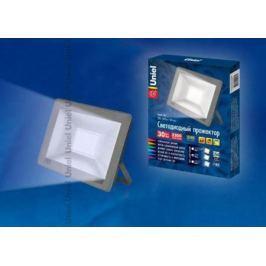 Прожектор светодиодный (UL-00001848) Uniel 30W 6000K ULF-F15-30W/DW IP65 185-240В Silver