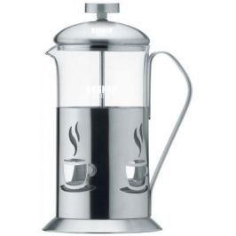 """Чайник заварочный Bekker """"De Luxe"""" стальной 0.6 л металл/стекло BK-362"""