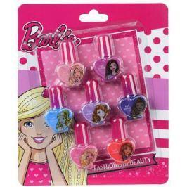 """Игровой набор детской декоративной косметики Markwins """"Barbie"""" 7 предметов для ногтей 9708051"""