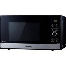 СВЧ Panasonic NN-SD38HSZPE 1000 Вт чёрный серебристый