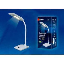Настольная лампа (UL-00002231) Uniel TLD-545 Black-White/LED/350Lm/3500K
