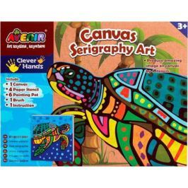 Набор для творчества Avenir «Шелкография» Черепаха CH1339 от 3 лет