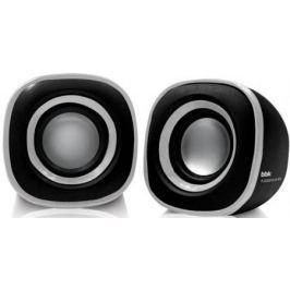 Колонки BBK CA-301S 2x1.5 Вт черный/металлик
