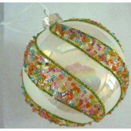 Елочные украшения Winter Wings Полевые цветы 8 см 1 шт стекло N07534