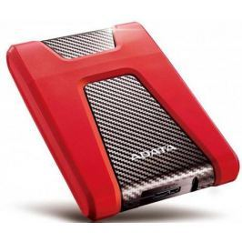 """Внешний жесткий диск 2.5"""" USB3.1 2Tb Adata HD650 AHD650-2TU31-CRD красный"""