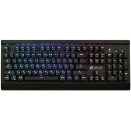 Клавиатура проводная Oklick 950G USB черный