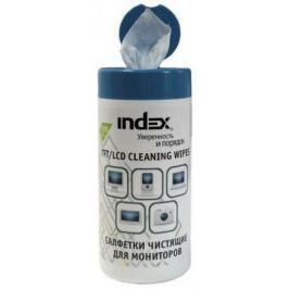 Чистящие салфетки Index ICCW02100G 100 шт