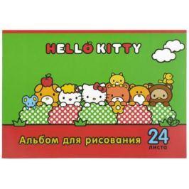 Альбом для рисования Action! Hello Kitty A4 24 листа HKO-AA-24-3 в ассортименте