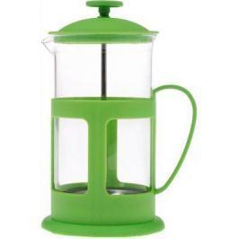 Френч-пресс Teco TC-P1060-G зелёный 0.6 л стекло