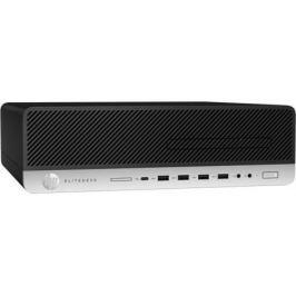 Системный блок HP EliteDesk 800 G3 i7-7700 3.6GHz 8Gb 256Gb SSD HD630 DVD-RW Win10Pro клавиатура мышь серебристо-черный 1KB26EA