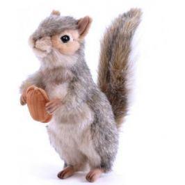 Мягкая игрушка белка Hansa Белка стоящая искусственный мех серый 20 см 4841