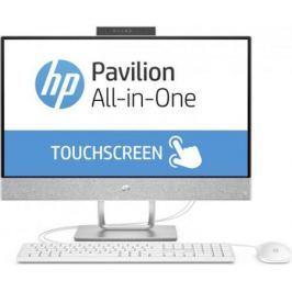 "HP Pavilion 24I 24-x010ur (Slim bezel) 23.8""(1920x1080)/Touch/Intel Core i7 7700T(2.9Ghz)/12288Mb/1000+128SSDGb/noDVD/Int:Intel HD Graphics 630/Cam/BT/WiFi/war 1y/5.52kg/blizzard white/W10 + USB KBD, USB MOUSE"