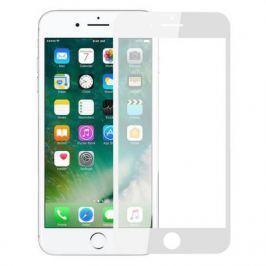 Защитное стекло 2.5D Perfeo Full Screen Gorilla для iPhone 8 Plus 0.33 мм белая рамка PF_5328