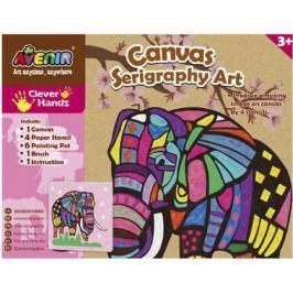 Набор для творчества Avenir «Шелкография» Слон CH1342 от 3 лет