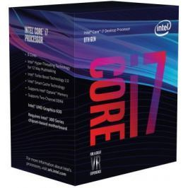 Процессор Intel Core i7-8700K 3.7GHz 12Mb Socket 1151 v2 BOX без кулера