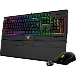 Комплект Gamdias клавиатура ARES 7 Color + мышь Ourea FPS черный USB GKC6011+GMS5501 Combo