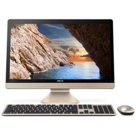 "Моноблок 21.5"" ASUS Vivo AiO V221ICGK-BA061T 1920 x 1080 Intel Core i5-7200U 4Gb 1 Tb nVidia GeForce GT 930МХ 2048 Мб Windows 10 Home золотистый черный 90PT01U1-M03640"