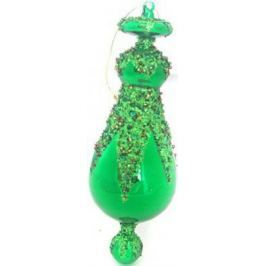 Елочные украшения Winter Wings ПОДВЕСКА зеленый 16 см 2 шт стекло N07267