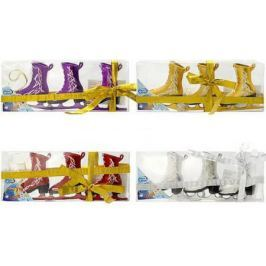 Елочные украшения Winter Wings Фигурные коньки в ассортименте 3 шт