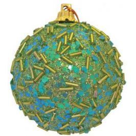 Елочные украшения Winter Wings Шар декоративный зеленый 6 см 1 шт N06538/З