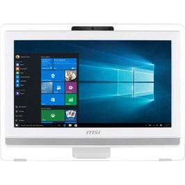 "Моноблок 21.5"" MSI Pro 22ET 4BW-035RU 1920 x 1080 Multi Touch Intel Celeron-N3160 4Gb 1 Tb Intel HD Graphics DOS белый 9S6-AC1612-035"