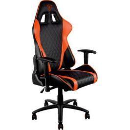Кресло компьютерное игровое Thunder X3 TGC15 оранжево-черный TGC15-BO
