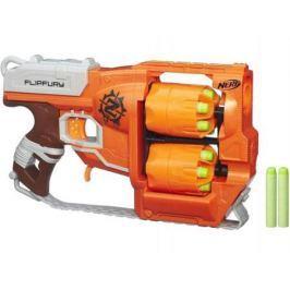 Бластер Hasbro Nerf Зомби Страйк Переворот оранжевый A9603