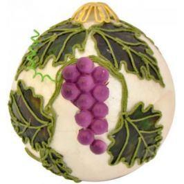 Елочные украшения Winter Wings Шар виноград в ассортименте 9 см 1 шт металл N181541