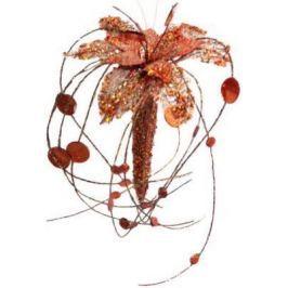 Украшение Winter Wings Волшебный цветок коралловый 20 см 1 шт пластик N069880/СВКР