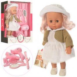 Кукла Лилли-стилист 30 см, звук, 8 аксесс., кор.