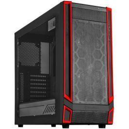Корпус ATX SilverStone RedLine RL05BR-W Без БП чёрный