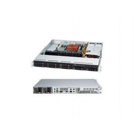 Серверный корпус Supermicro CSE-113MTQ-R400CB 1U ATX 8x2.5'' HotSwap SAS/SATA 400Вт черный