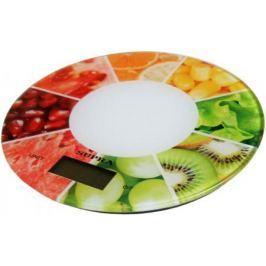 Весы кухонные Supra BSS-4603 белый ягоды