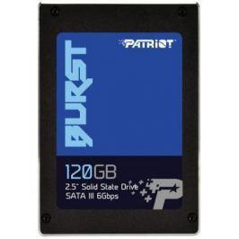 "Твердотельный накопитель SSD 2.5"" 120GB Patriot BURST Read 560Mb/s Write 540Mb/s SATAIII PBU120GS25SSDR"