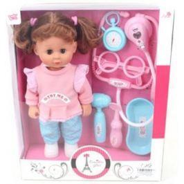 Кукла Лилли-доктор 30 см, звук, 6 аксесс., кор.