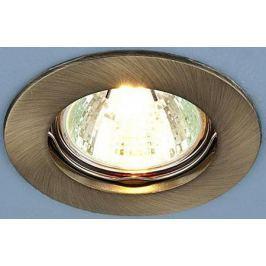 Встраиваемый светильник Elektrostandard 863 MR16 SB бронза 4690389055522