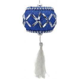 Елочные украшения Winter Wings Барабан синий 10 см 1 шт N069387B