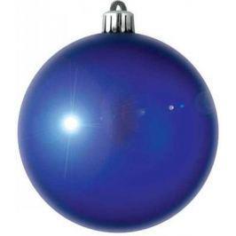 Елочные украшения Winter Wings Шар блестящий синий 8 см 1 шт N06690